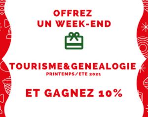 Offrez un WE tourisme et généalogie